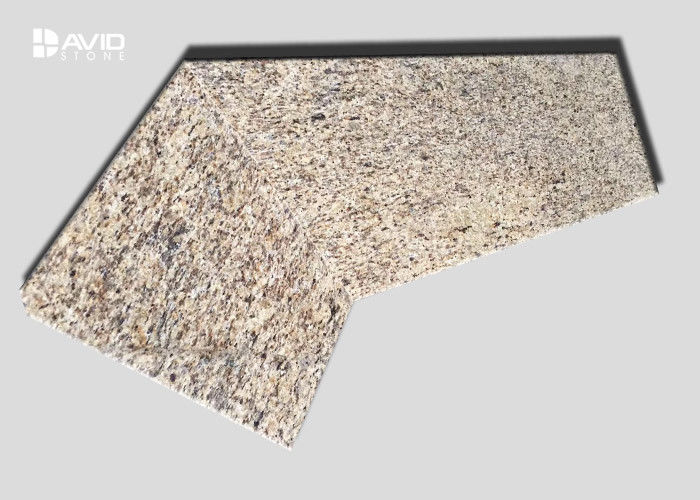 Polished Granite Natural Stone Countertops , Granite Bathroom Vanity Tops
